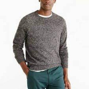 J. Crew Mercantile Charcoal Lambs Wool Blend Crew Neck Pullover Sweater